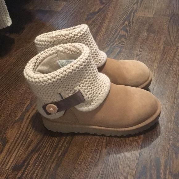 1d88b53d183 UGG Shaina Genuine Fur Lined Ankle Boots, Chestnut